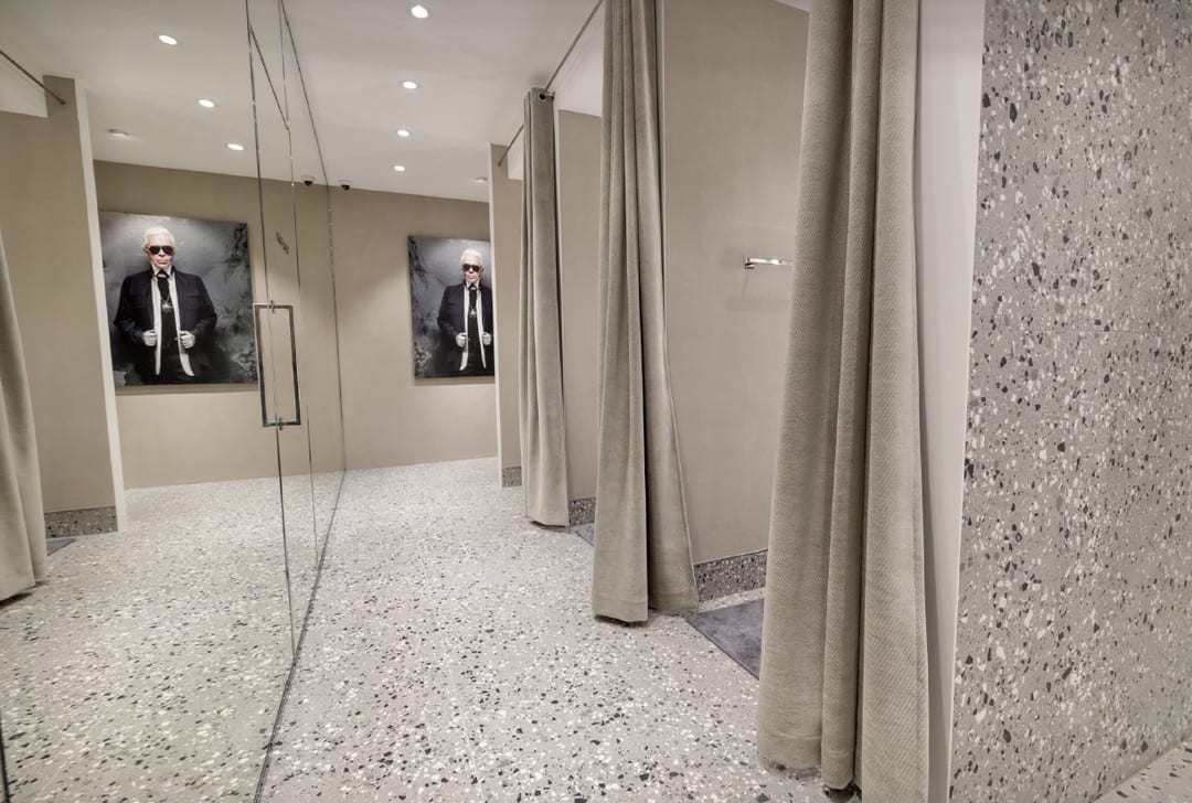 Tierrafino BetonLook Karl Lagerfeld Outlet Roermond leempleister