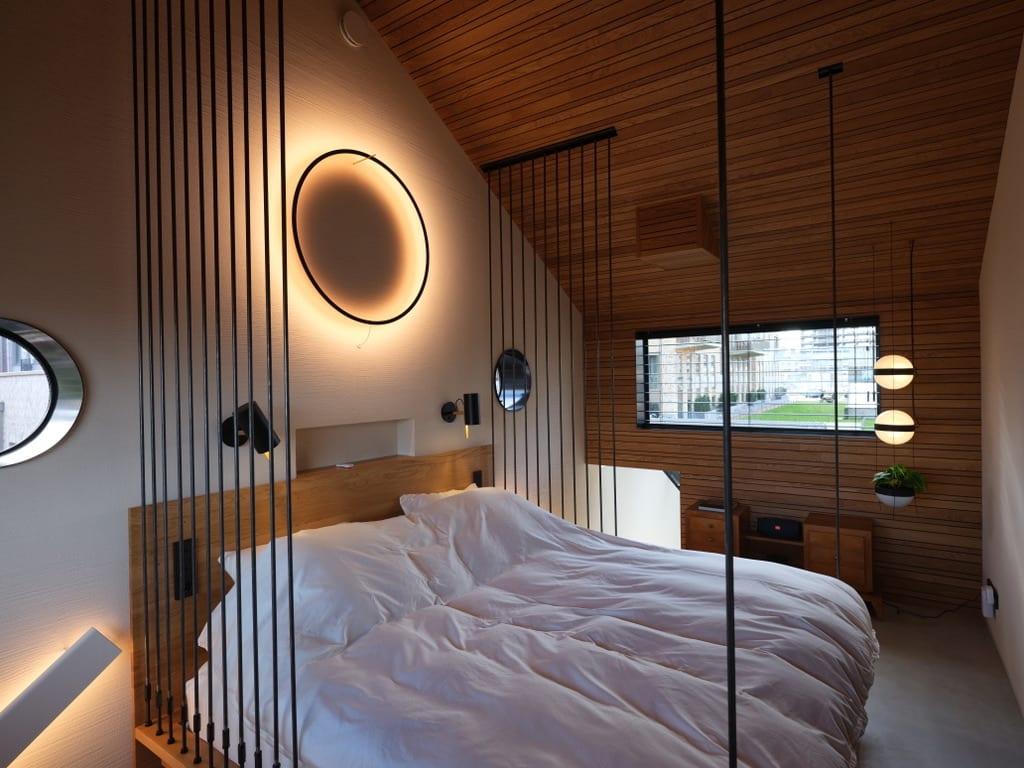 Leemstuc Tierrafino Duro slaapkamer Von Dice Hotel