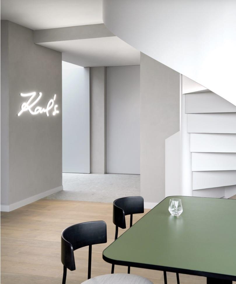 Leemstuc BetonLook Karl Lagerfeld Amsterdam