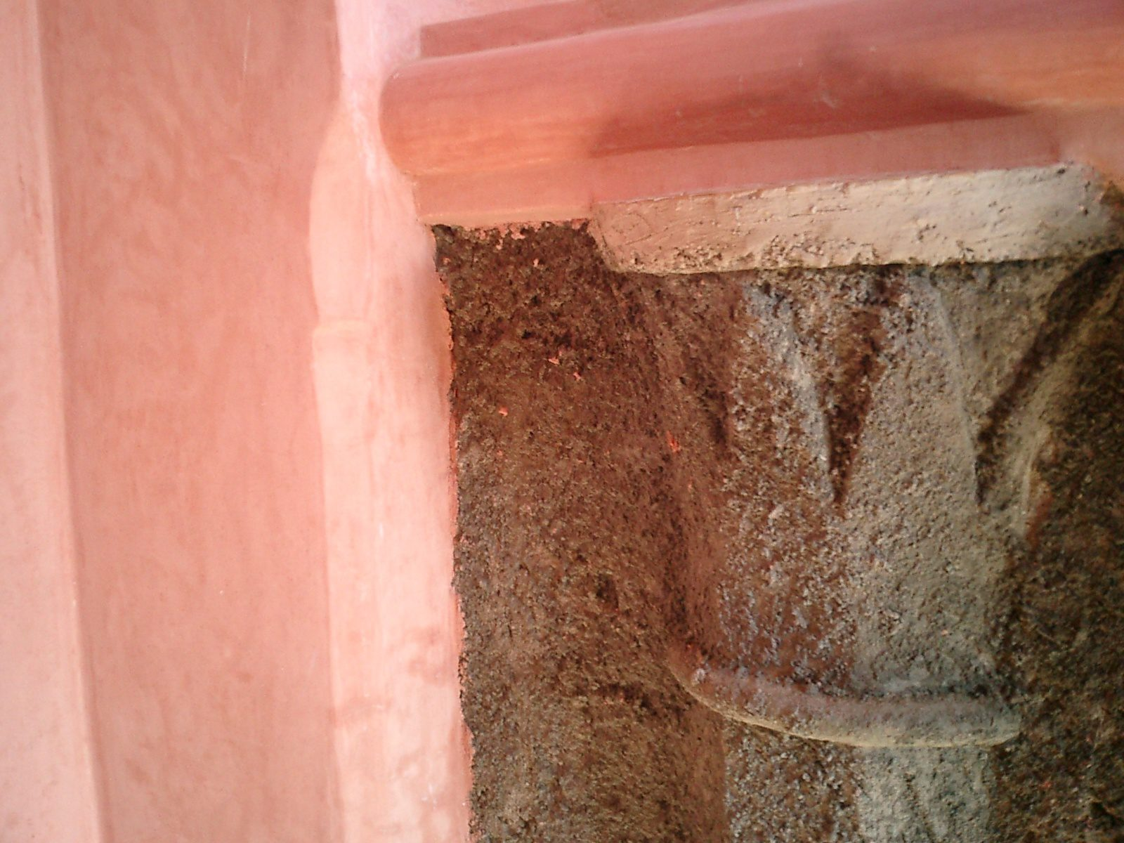 13 Tierrafino Stone Tadelakt restaurant Les Deux Tours Marrakech architect Boccara ondergrond kalkstuc lime plaster Kalkputz enduit chaux kalkpleister