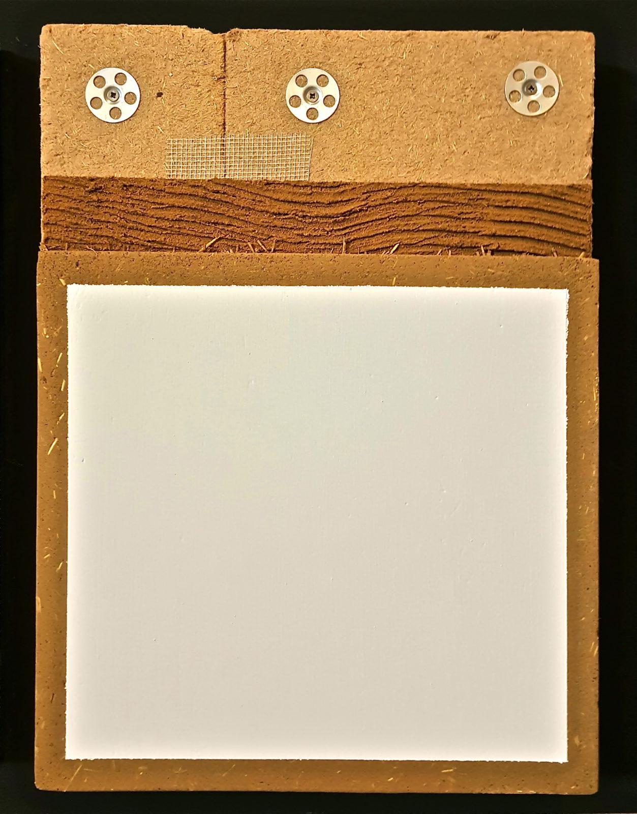 Hechtleem houtvezelplaat basisleem leemfinish