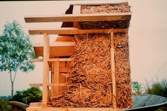 Strobouw leembouw maquette