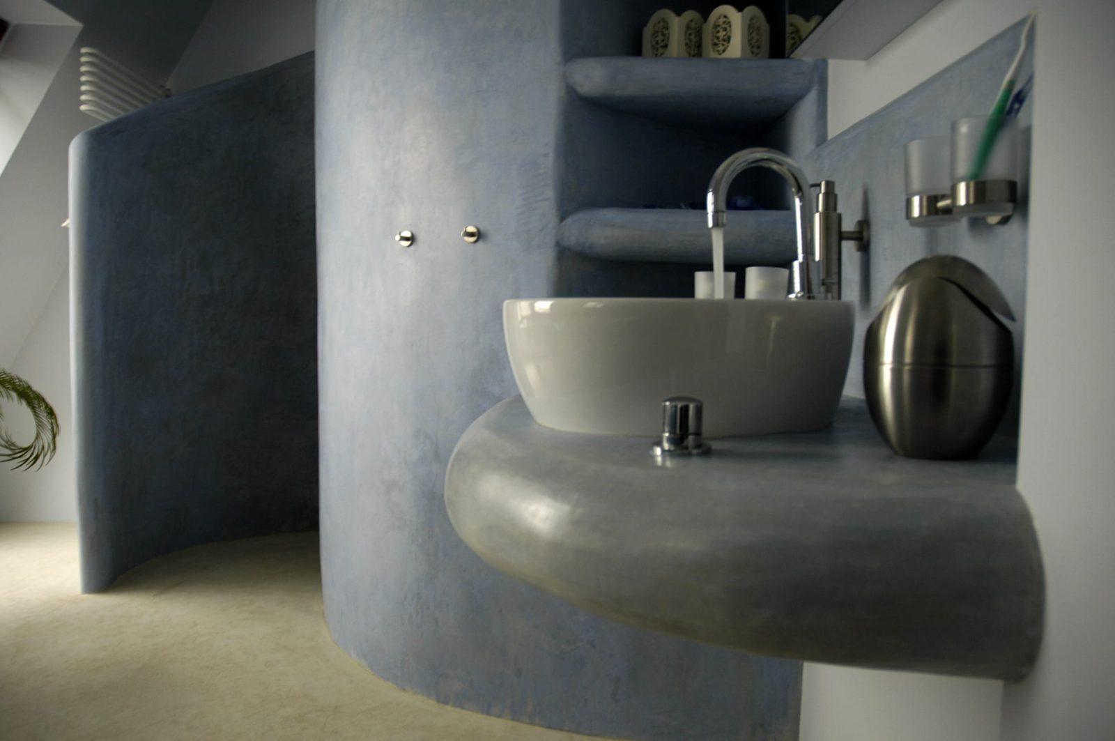 Tadelakt Tierrafino badkamer
