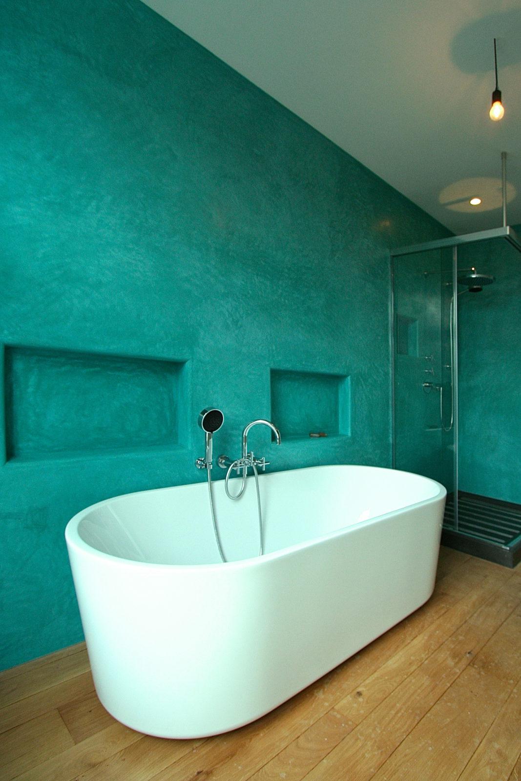 Tadelakt Tierrafino turquoise