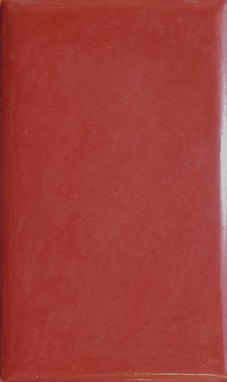Tadelakt kleuren Metaaloxide rood