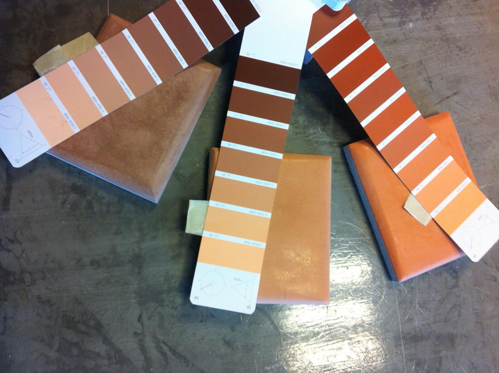 Tadelakt kleuren NCS Tierrafino