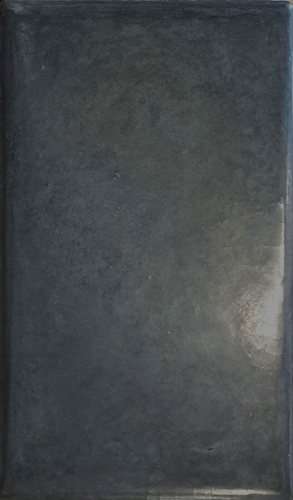 Tadelakt kleuren Zwart oxide
