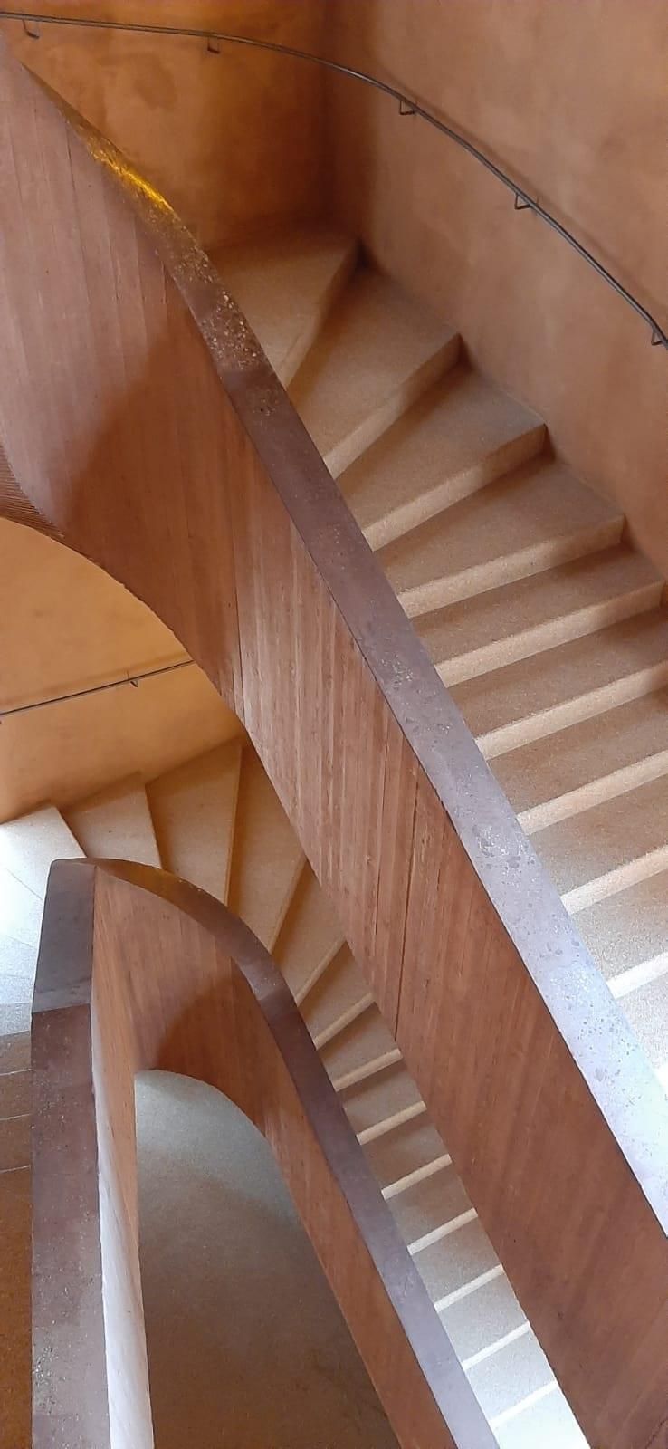 Tierrafino leemstuc Museum Küppersmühle 4