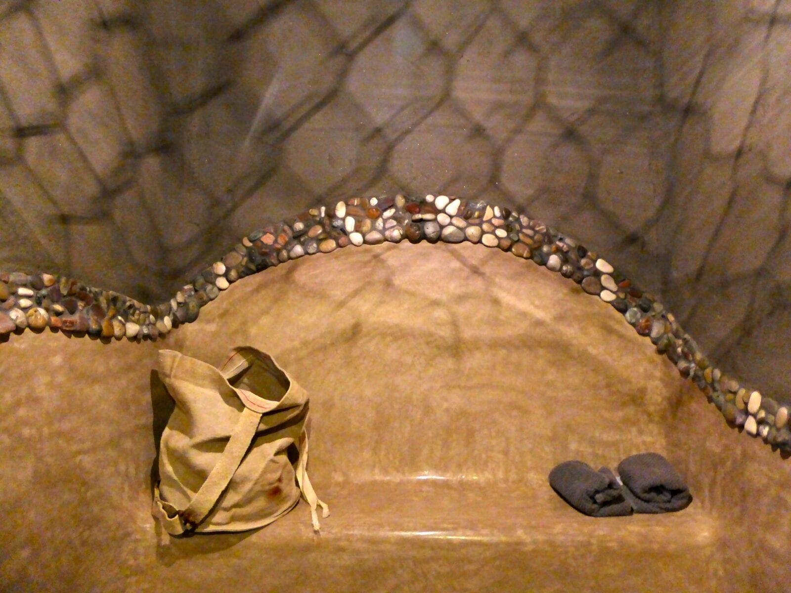 Tadelakt en leempleister en tadelakt ornament