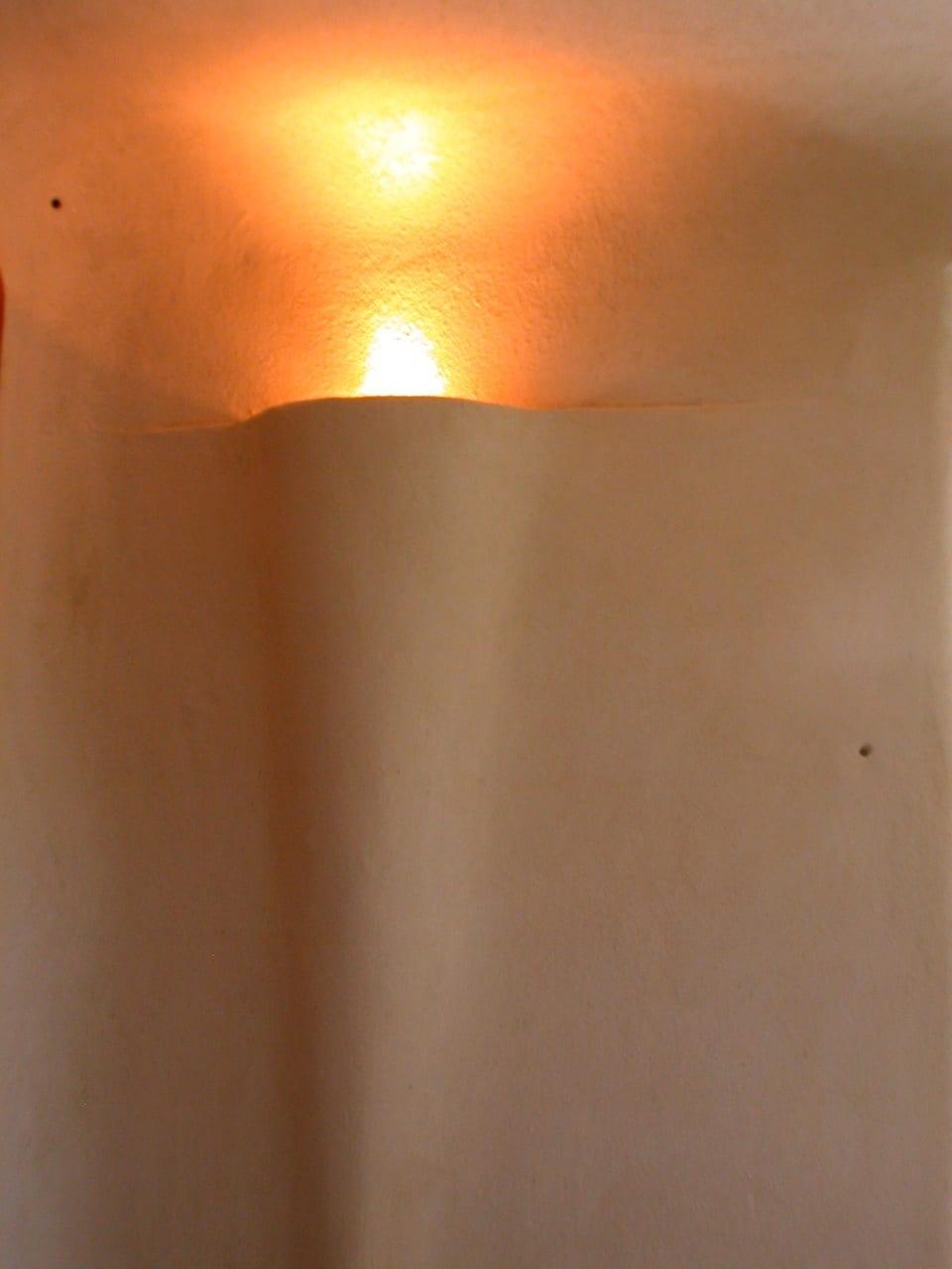 leemstuc leempleister lange lamp